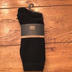 Frye Accessories - NEW - 2 Pairs FRYE CASHMERE  SOCKS